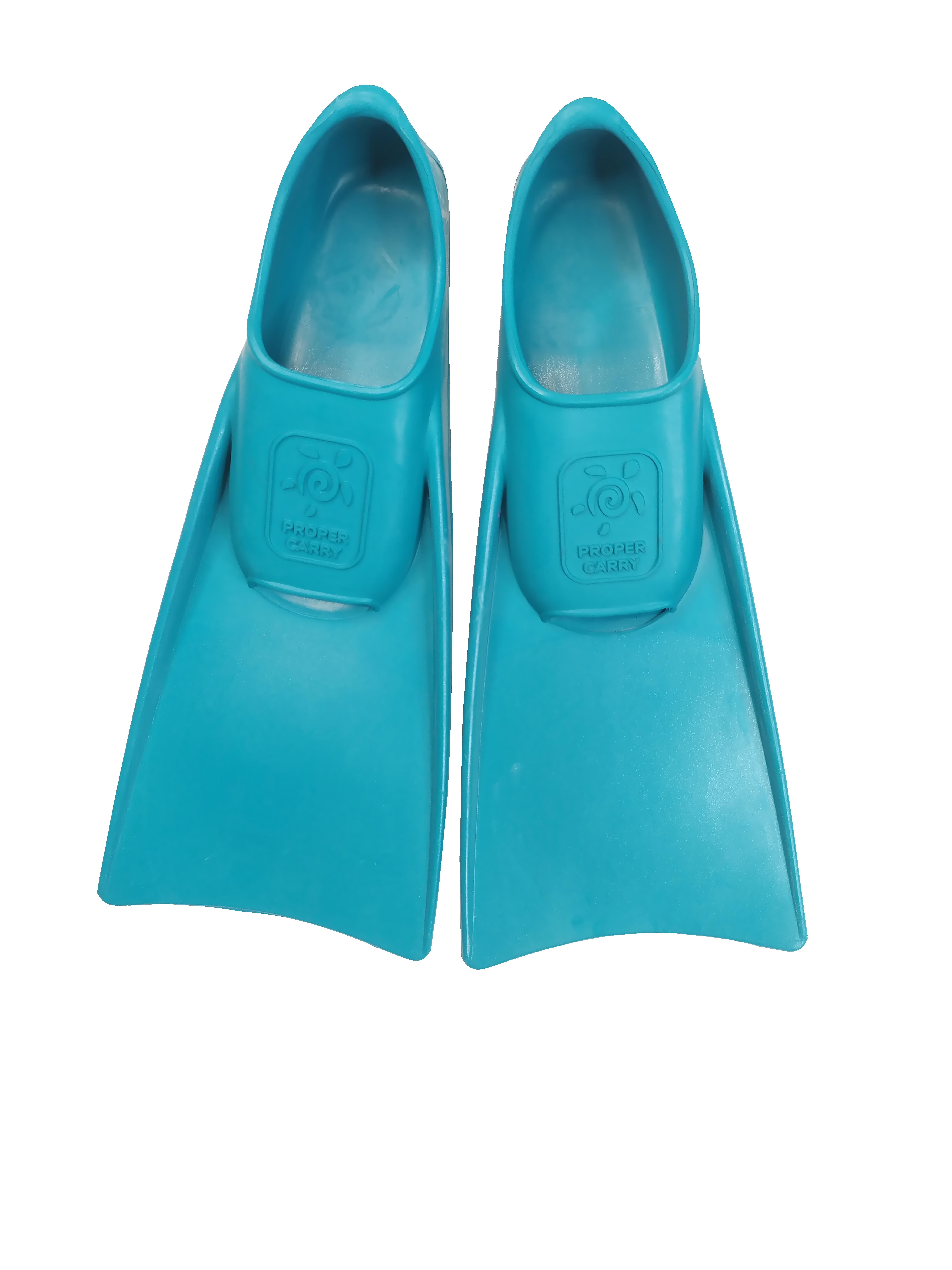Грудничковые каучуковые ласты для плавания ProperCarry Super Elastic очень маленькие размеры 21-22, 23-24, 25-26, 27-28, 29-30, - фото 2